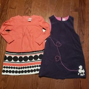 Gymboree size 6 dresses